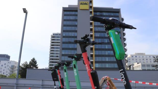 ADAC E-Scooter-Check in Frankfurt am Main