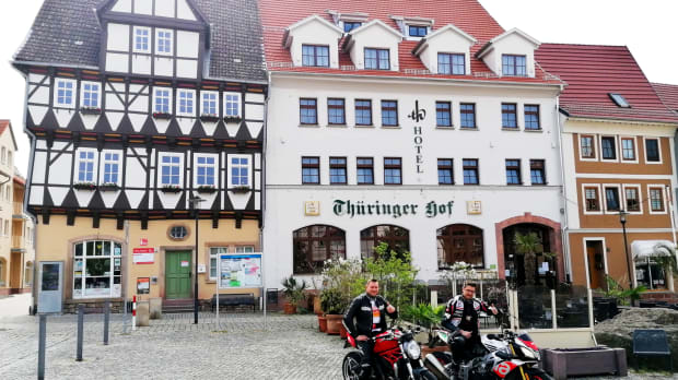 """ADAC und DEHOGA zertifizieren motorradfreundliche Hotels - Hotel-Restaurant """"Thüringer Hof"""", Bad Frankenhausen/ Kyffhäuser"""