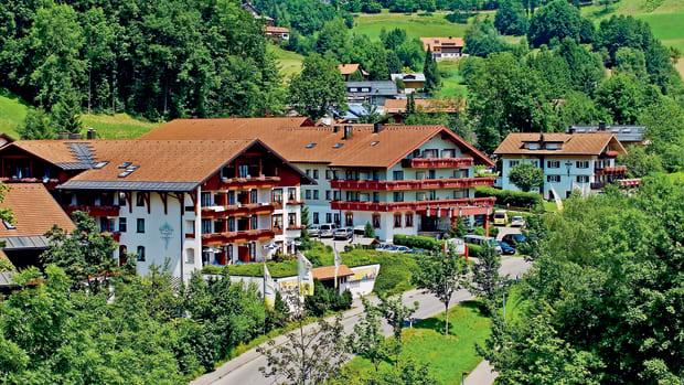 Königshof Hotel & Resort in Oberstaufen - Hotelansicht