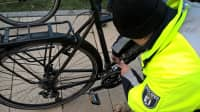 Fahrradcodierung durch die Polizei