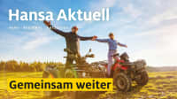 Titelseite Hansa aktuell Ausgabe 4 2021