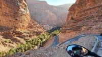 Blick in die Dadesschlucht, Marokko