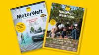 Die neue ADAC Motorwelt mit NRW-Regionalmagazin ist da.