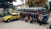 ADAC und LaBrassBanda bei der Biergartentour 2021