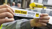 Aufkleber Eco-Taxi