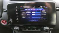 Verbrauchsanzeige des Honda CR-V