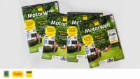 Motorwelt Premium Stapel mit Logos