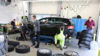 ADAC testet Reifen in Landsberg