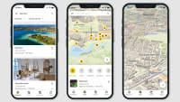 Screenshot der ADAC Trips App