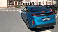 Toyota Prius Hybrid im Elsass