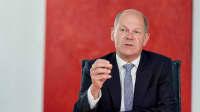 Interview mit Olaf Scholz in Berlin