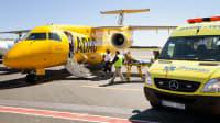 Der ADAC Ambulanz Service holt eine verletzte Person aus Spanien zurück