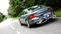 Emissionstest an einem Volvo