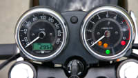 Display der Kawasaki W800