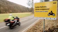 Mit dem Motorrad durch das Gelbachtal