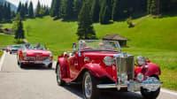 Oldtimer bei Trentino Klassik