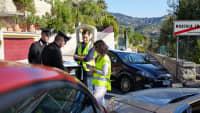 Polizei nimmt Unfallbericht auf
