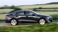 Seitenansicht der Audi A3 Limousine