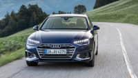 Frontansicht des Audi A4 Avant fahrend