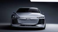 der Audi A6 e-tron von vorne