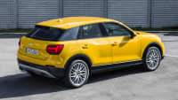 Seitenansicht des Audi Q2 TDI