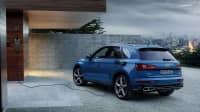 Audi Q5 an Ladestation