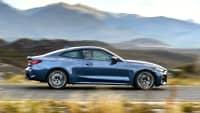 Seitenansicht des BMW 4er Coupe