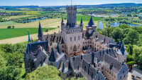 Dronenaufnahme Schloss Marienburg