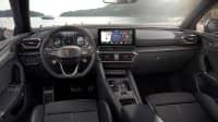 Cockpit des Cupra Leon