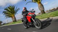 die Ducati Multistrada 950 auf der Strasse