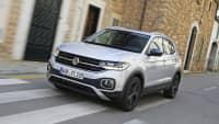 grauer VW T-Cross