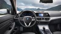 Cockpit eines 3er BMW