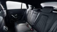 Rueckbank eines Mercedes CLA Shooting Brake