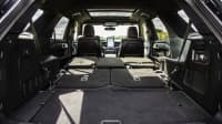 Einen Blick in den Kofferraum des Ford Explorer