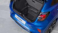 Leerer Kofferraum vom Ford Puma
