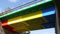 Lego Brücke in Wuppertal