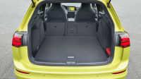 der Kofferraum des VW Golf Variant