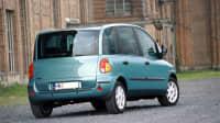 der Fiat Multipla von hinten