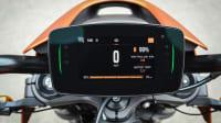 das Display der Harley-Davidson Livewire