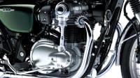 Motor der Kawasaki W800