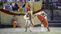 Gladiatorenspiele in Pula