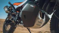 Motor einer KTM 790 Adventure