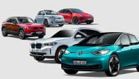 Mazda MX-30, Fiat 500e, Tesla Model Y, BMW ix3, VW ID.3