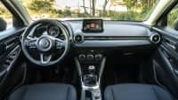 Cockpit des Mazda 2
