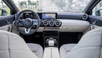 Cockpit eines Mercedes A-Klasse