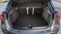 Kofferraum eines Mercedes A-Klasse