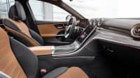 Cockpit der Mercedes C-Klasse