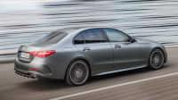 Seiten- und Heckansicht der Mercedes C-Klasse Limousine