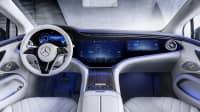 Das Cockpit des Mercedes EQS
