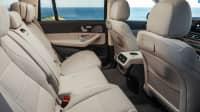 Blick auf die Sitzreihe des Mercedes GLS